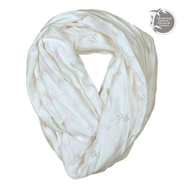 Bamboo nursing scarf - arrow print