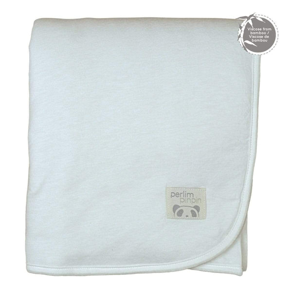 Bamboo blanket - solid ivory