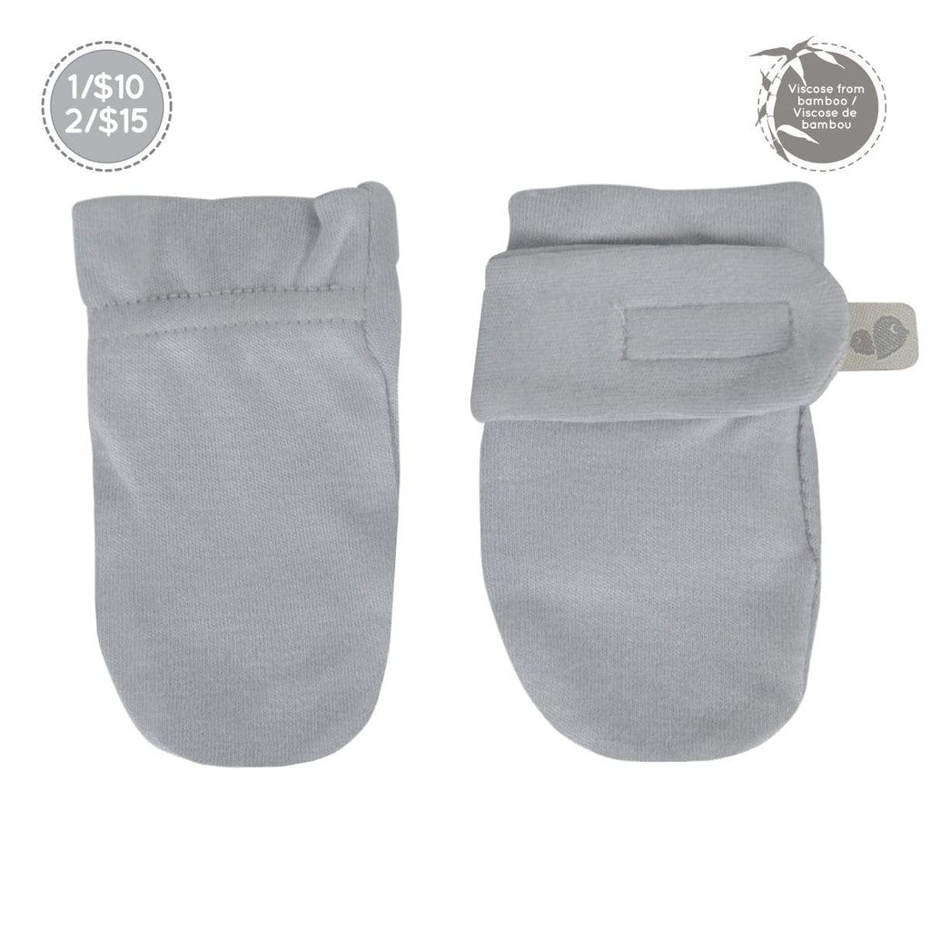 Bamboo scratch mitts - souris (gray)