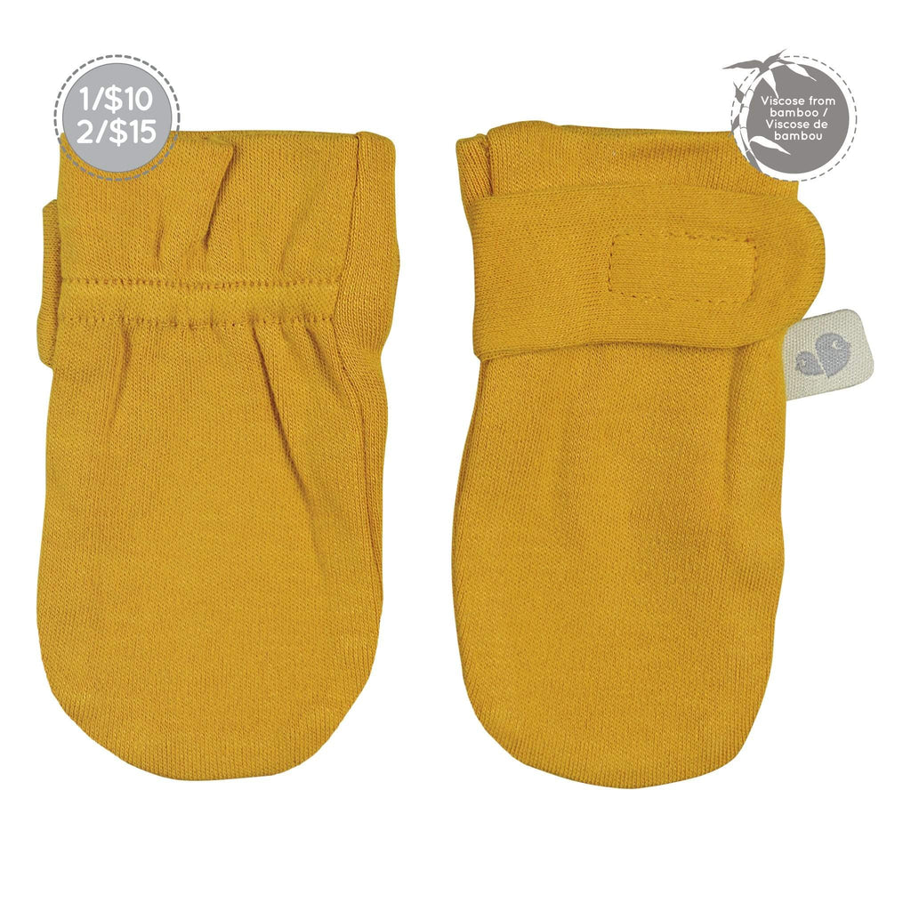 Bamboo scratch mitts - Golden