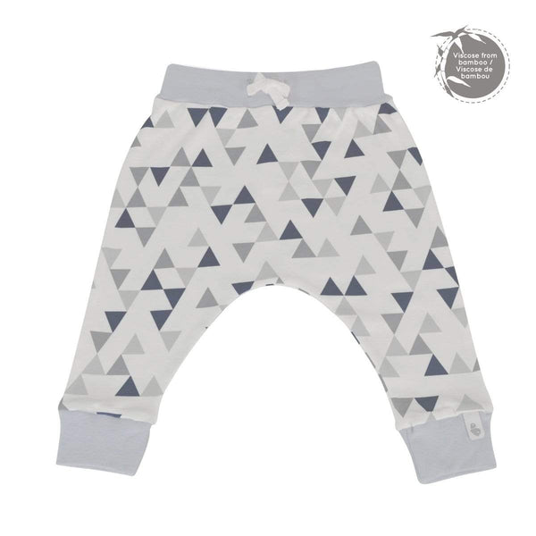 Bamboo lounge pants - triangles