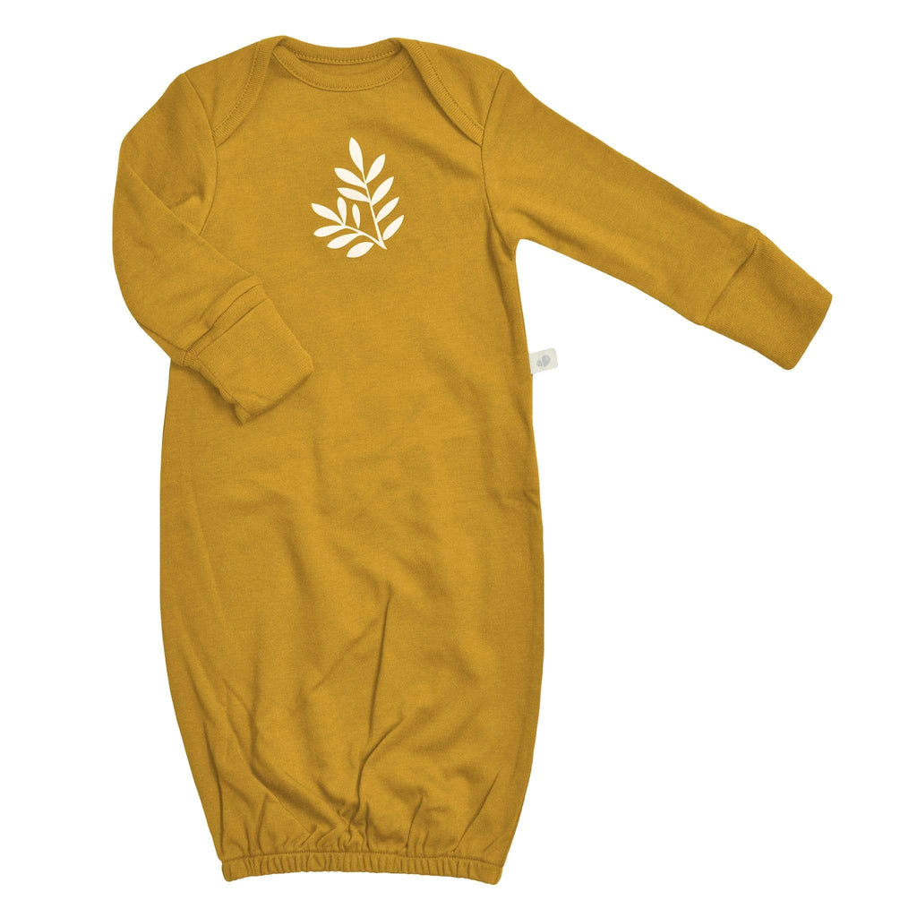 Bamboo nightgown - golden yellow