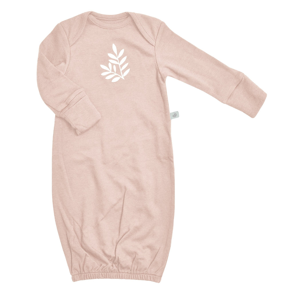 Bamboo nightgown - dusty rose