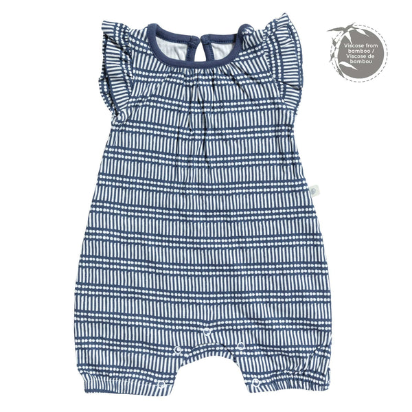 Bamboo girl romper - sticks