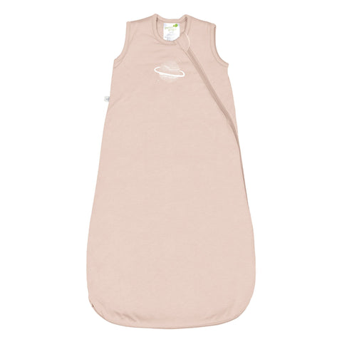 Quilted bamboo sleep bag - dusty rose (1 tog)