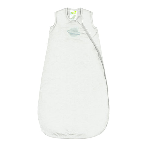 Quilted bamboo sleep bag - ivory (1 tog)