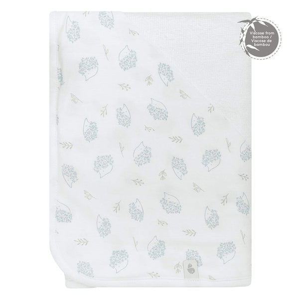 Bamboo hooded towel - porcupines