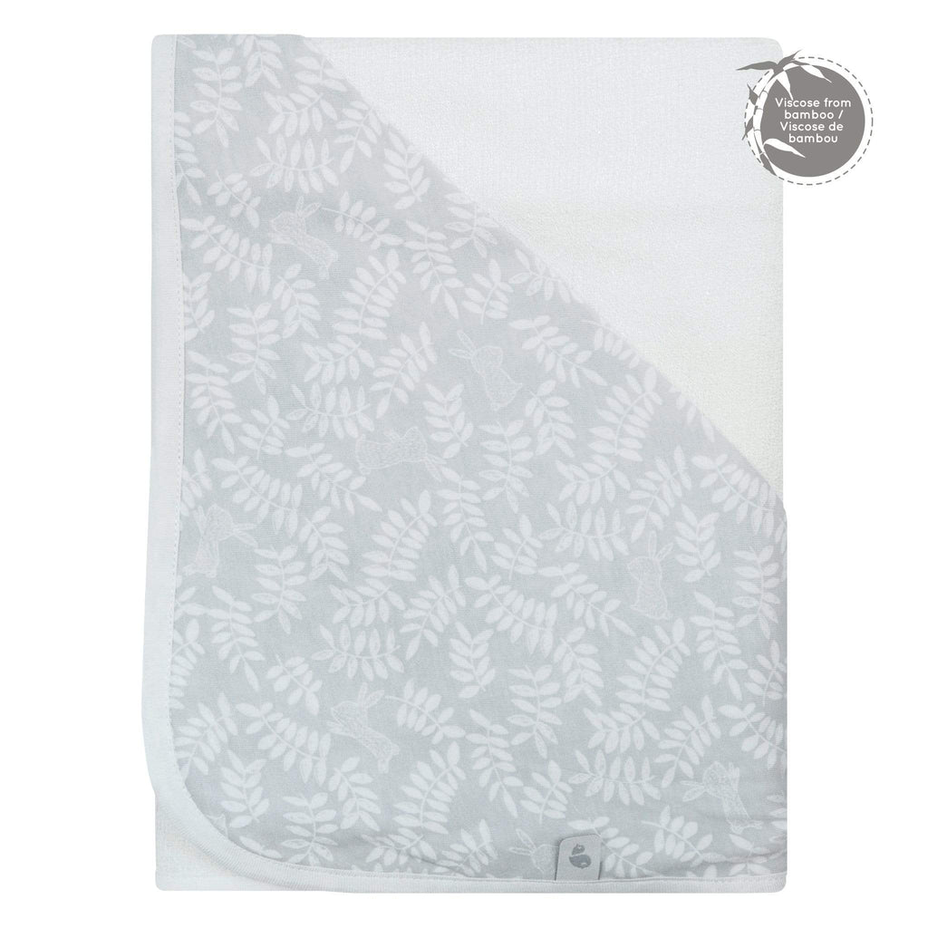 Bamboo hooded towel - rabbits
