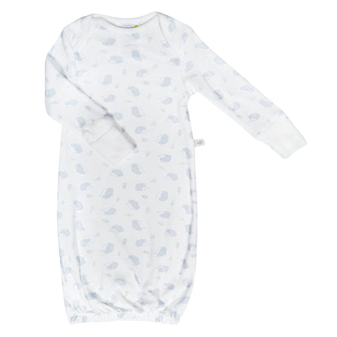 Bamboo baby nightgown - porcupines