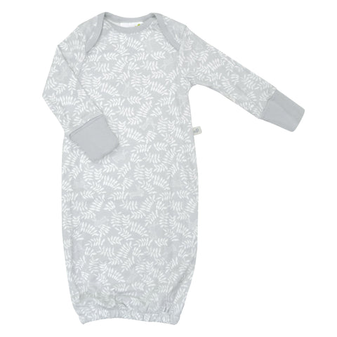 Bamboo baby nightgown - rabbits