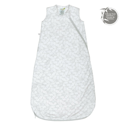 Quilted bamboo sleep bag - rabbits (1 tog)