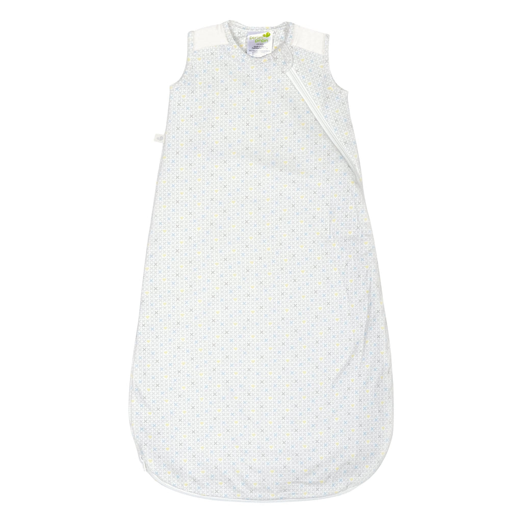 Quilted bamboo sleep bag - xhearts (2,5 togs)