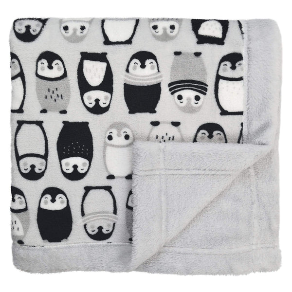 Plush blanket - penguins