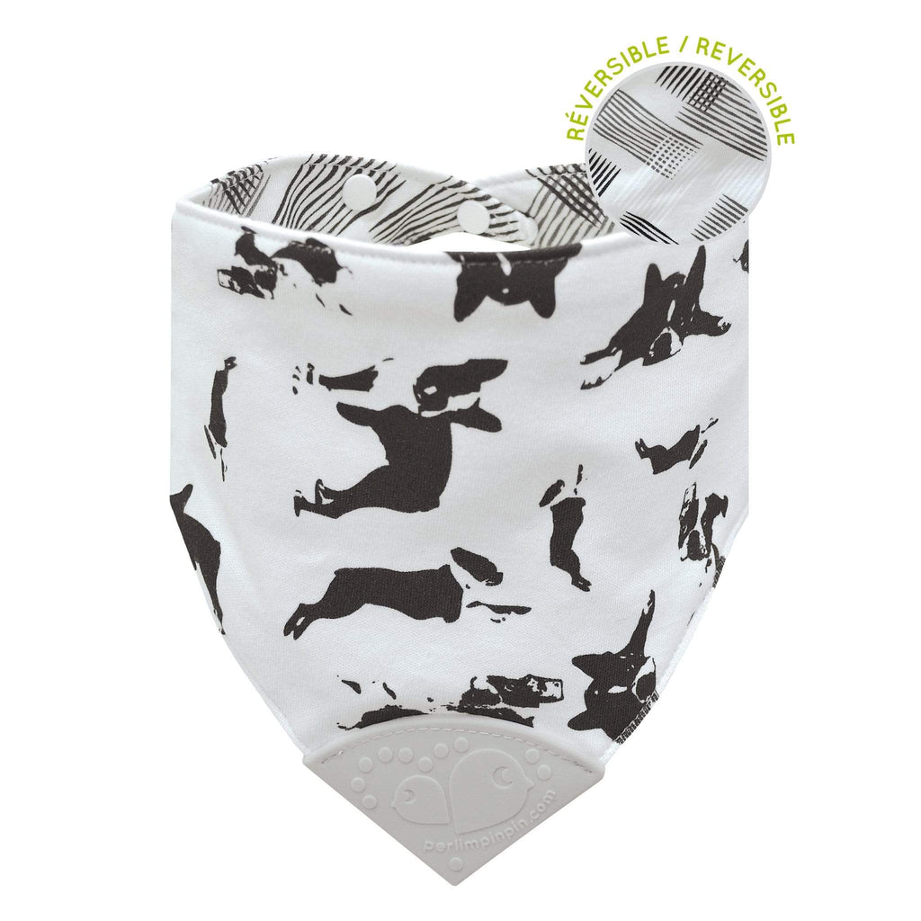 Teething bib - Dogs