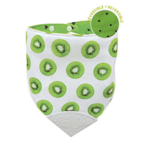 Teething bib - Kiwis