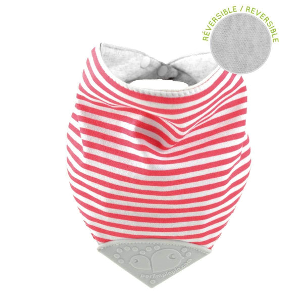 Teething bib - Stripes