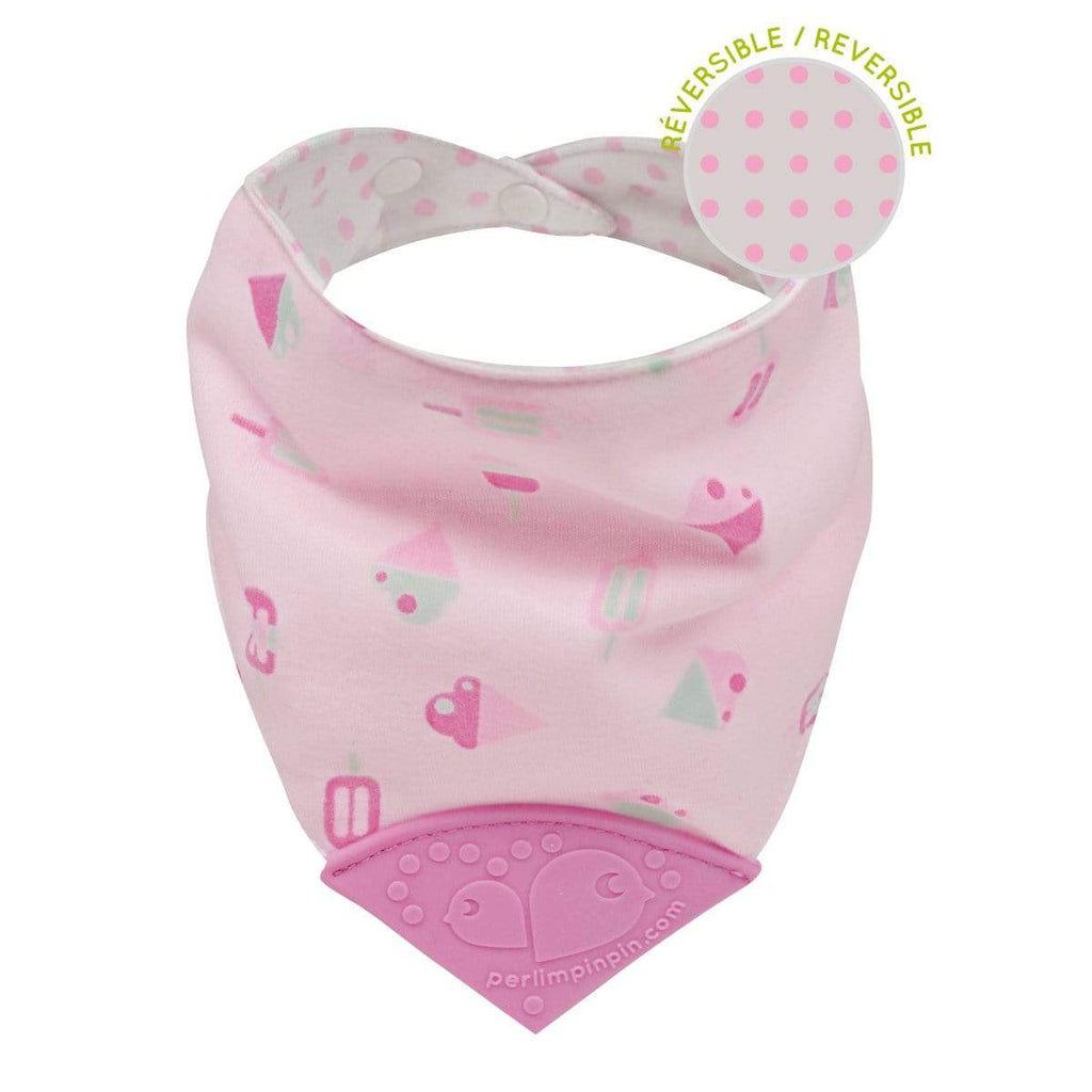 Teething bib - Ice cream