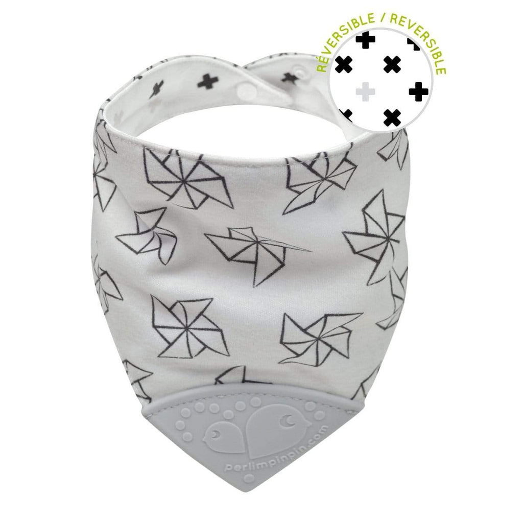 Teething bib - Pinwheels