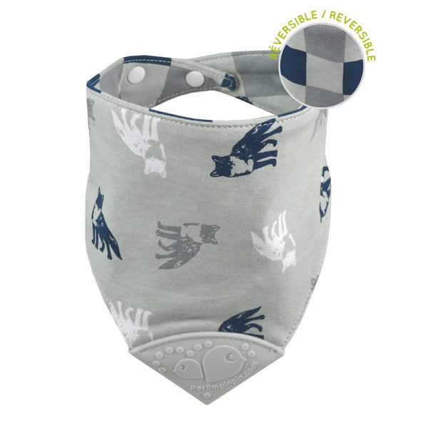 Teething bib - Foxes