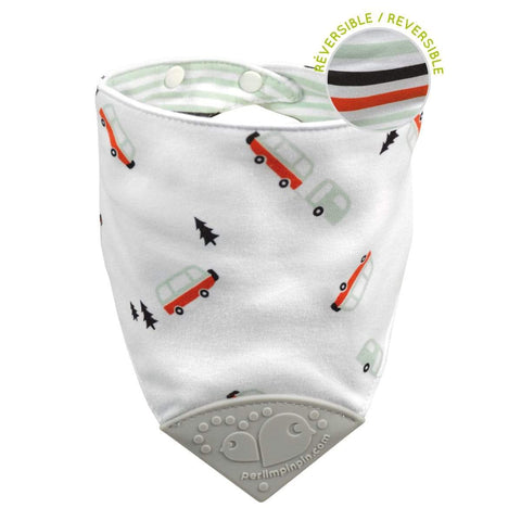 Teething bib - camping