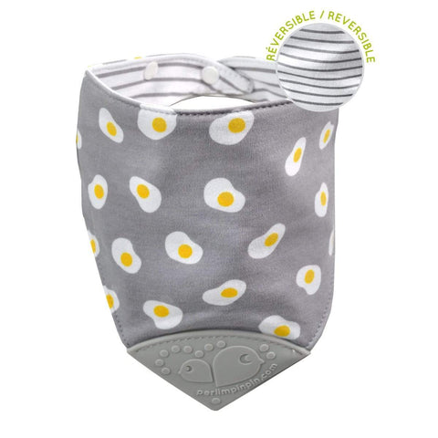 Teething bib - Eggs