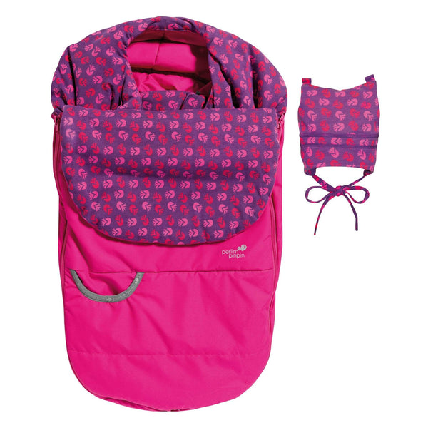 Mid-season car seat cover - pink