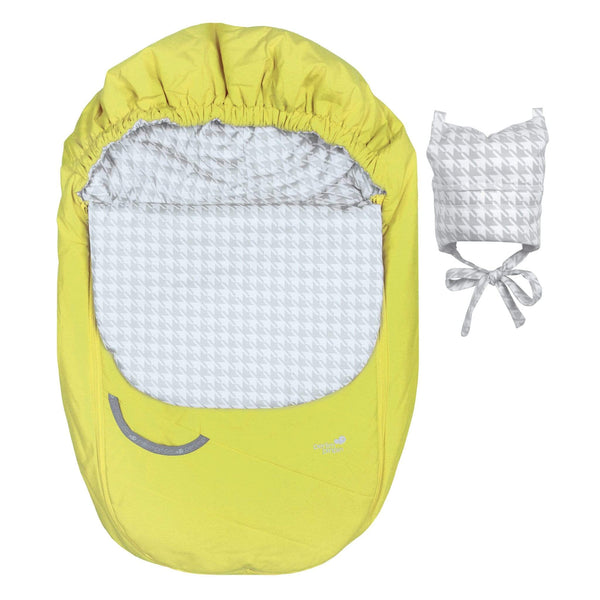 Mid-season car seat cover - Limette