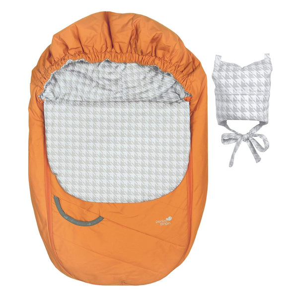 Mid-season car seat cover - Clementine