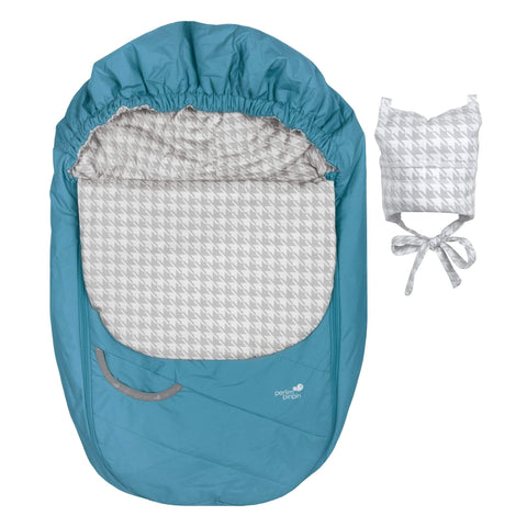 Mid-season car seat cover - Turquoise