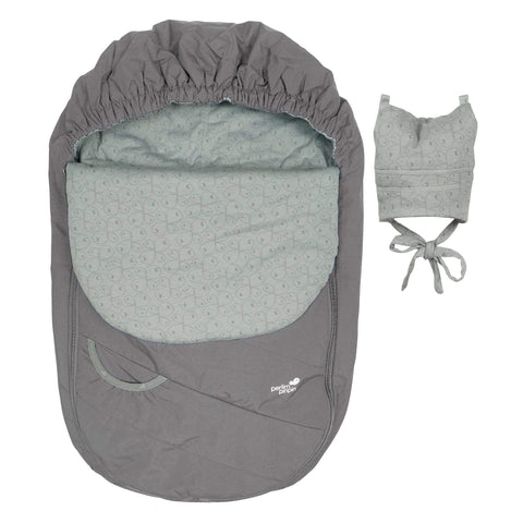 Mid-season car seat cover - Gray