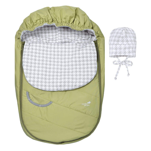 Mid-season car seat cover - lime