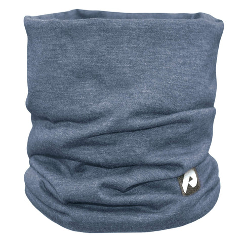 Cotton jersey neck warmer - Marine