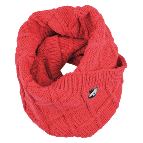 Knitted infinity scarf - langoustine