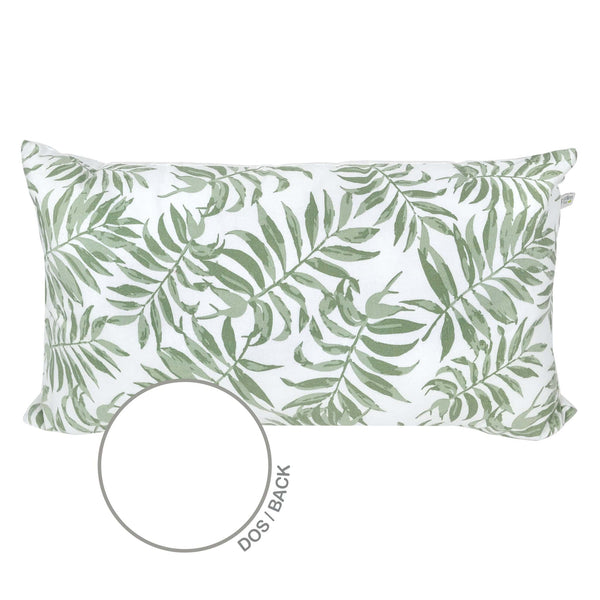 Rectangular cushion - Tropical green
