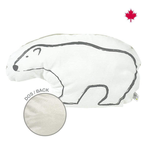 Shaped cushion - bear