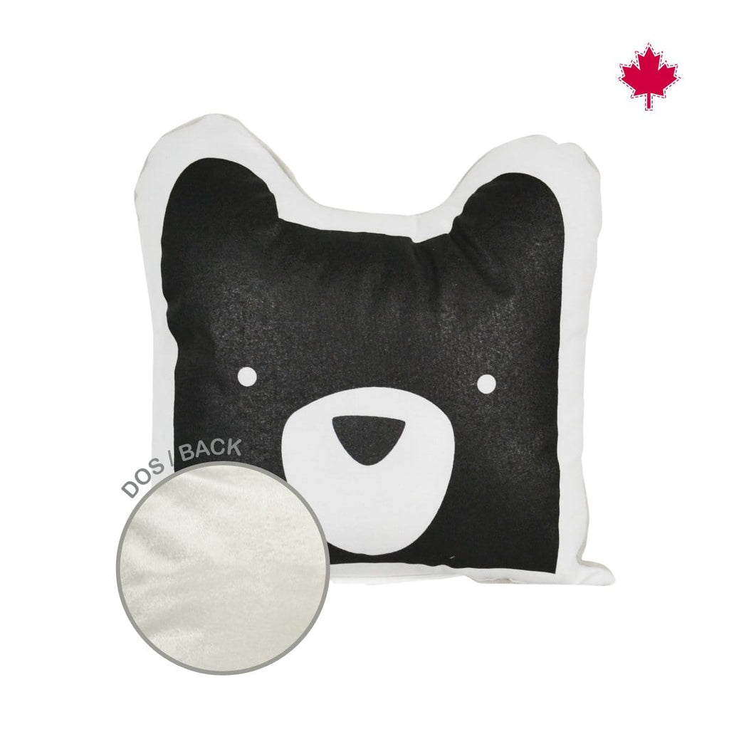 Shaped cushion - bear head