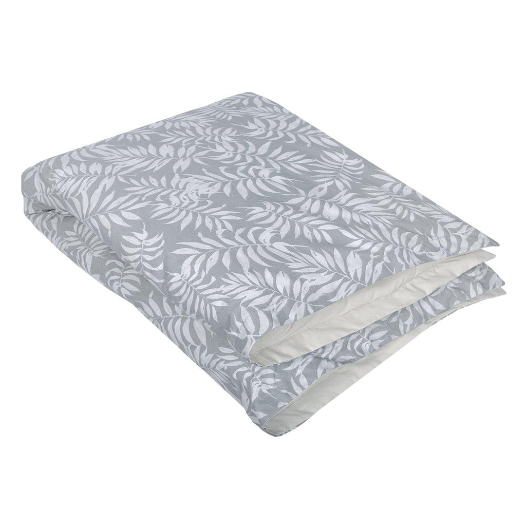 Duvet cover & insert - Tropical grey