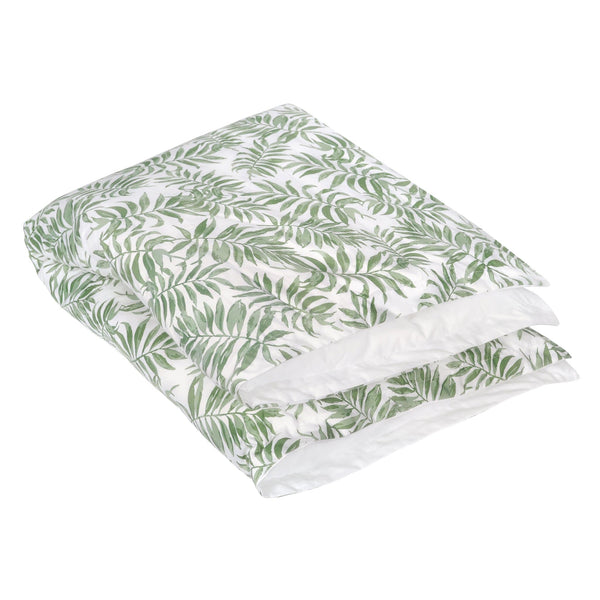 Duvet cover & insert - Tropical green