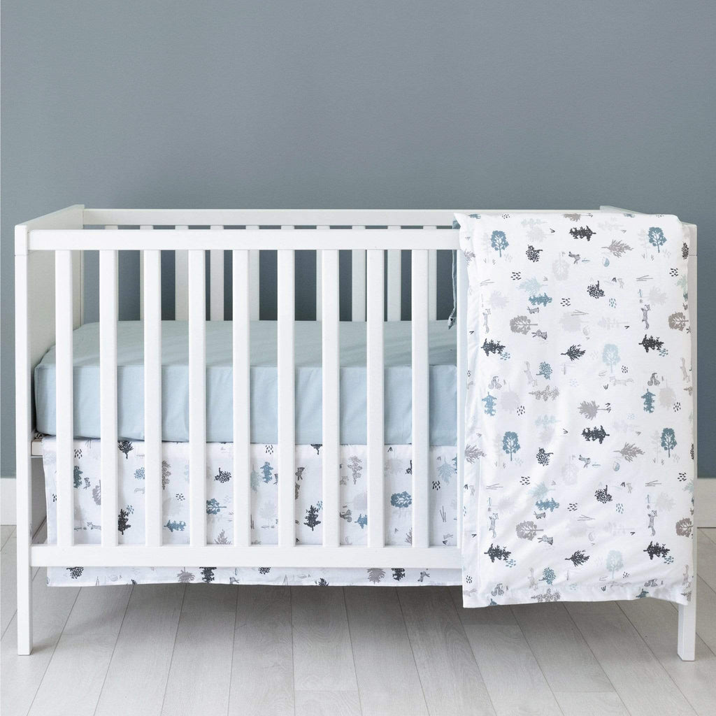 4 pieces crib set - forest