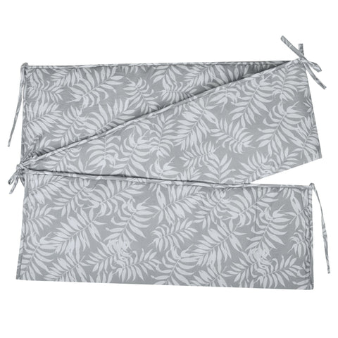 Bumper pads - Tropical grey