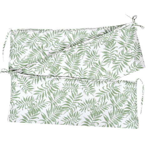 Bumper pads - Tropical green