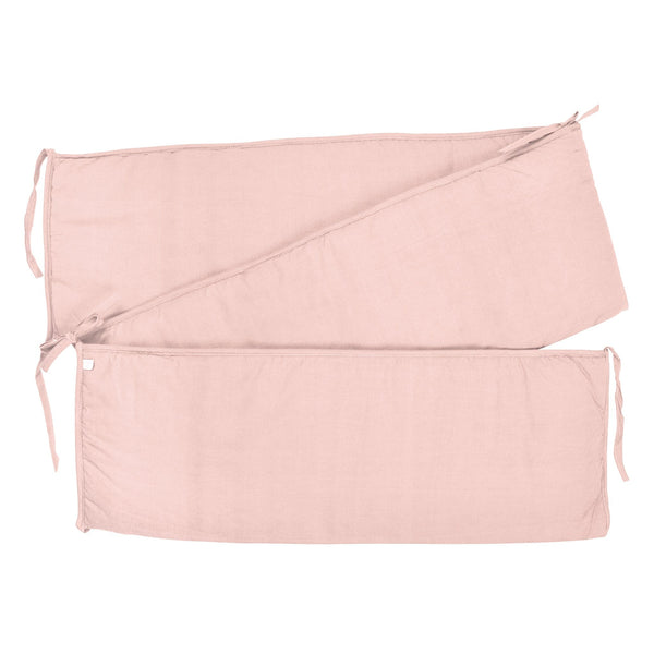 Solid bumper pads - pink