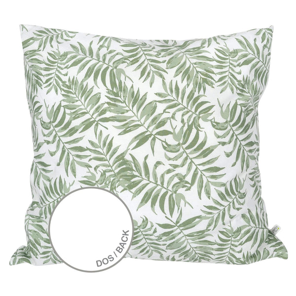 Large cushion - Tropical green