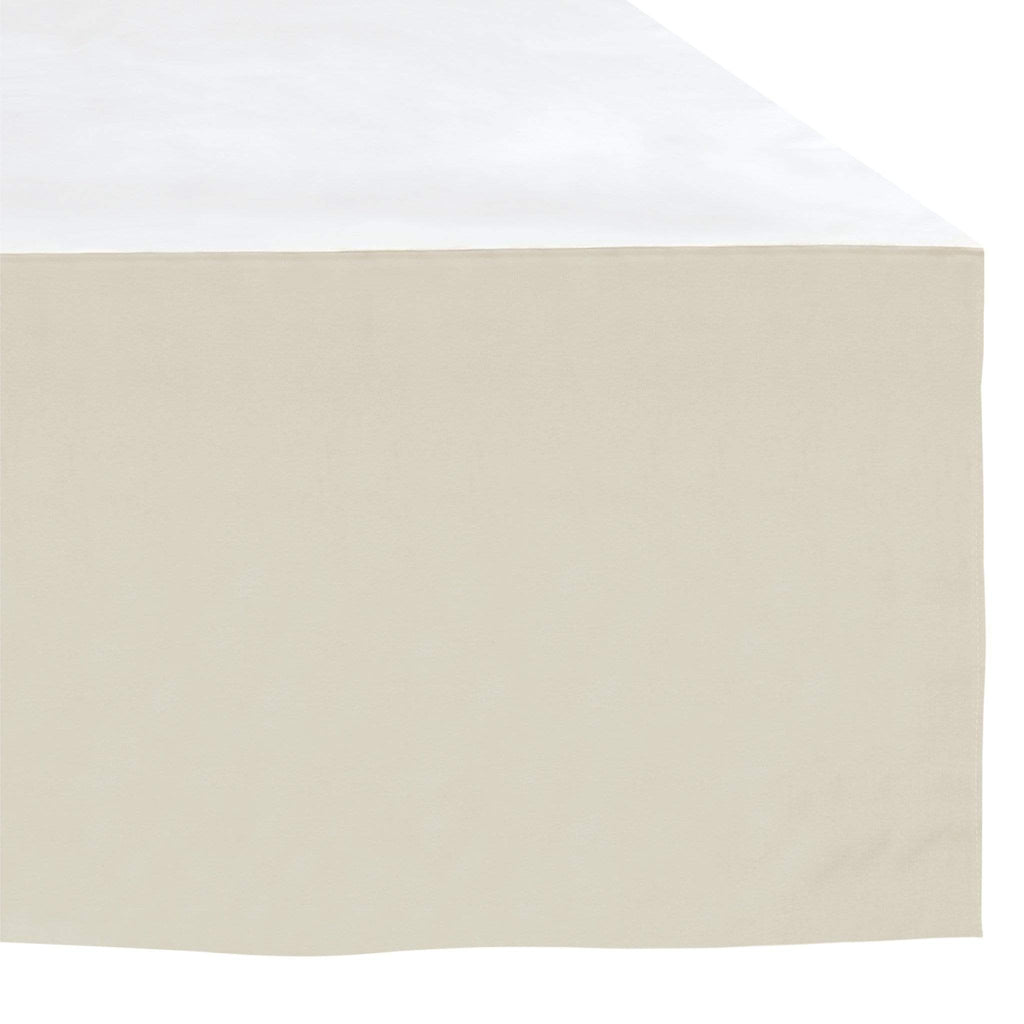 Crib Bed skirt - taupe