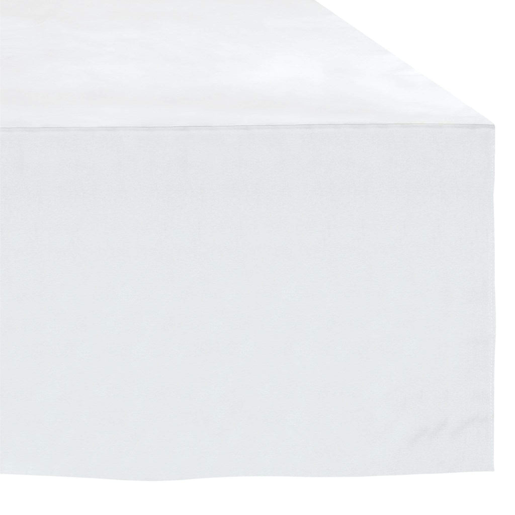 Crib Bed skirt - white