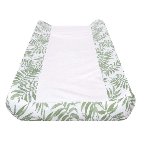 Change pad cover - Tropical green