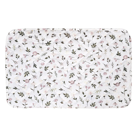 Waterproof change pad - floral (27x40 inches)