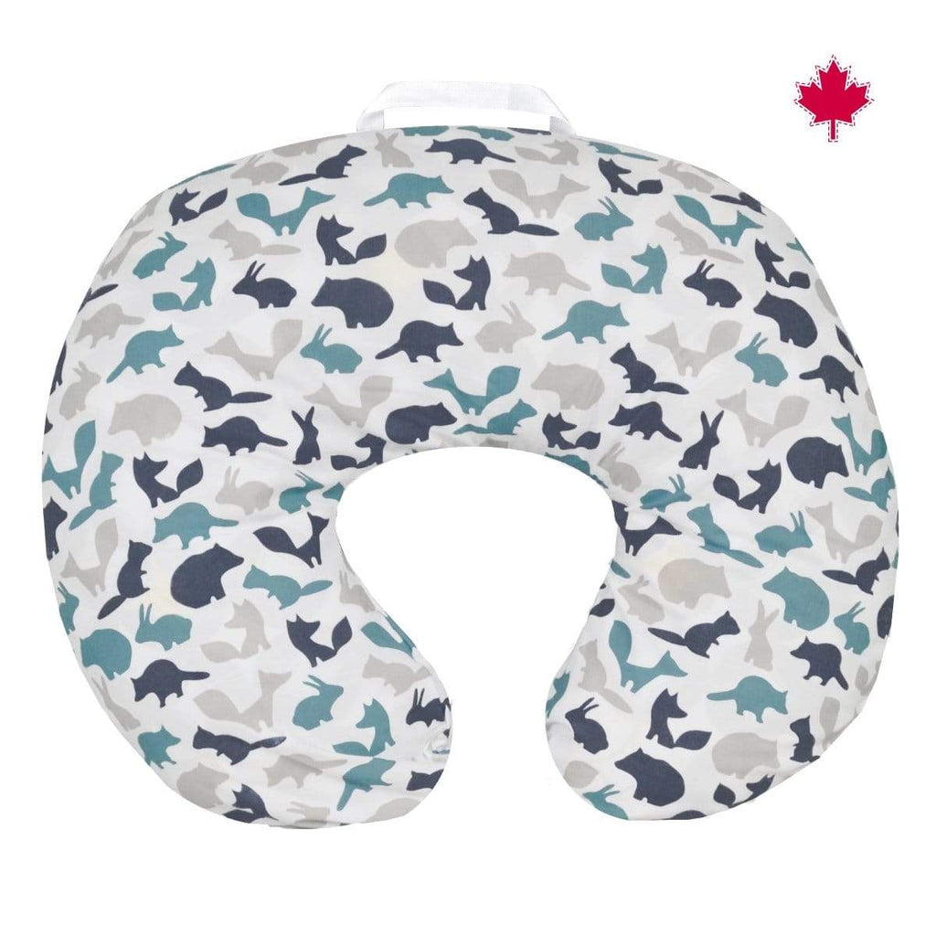 Printed nursing pillow - animals