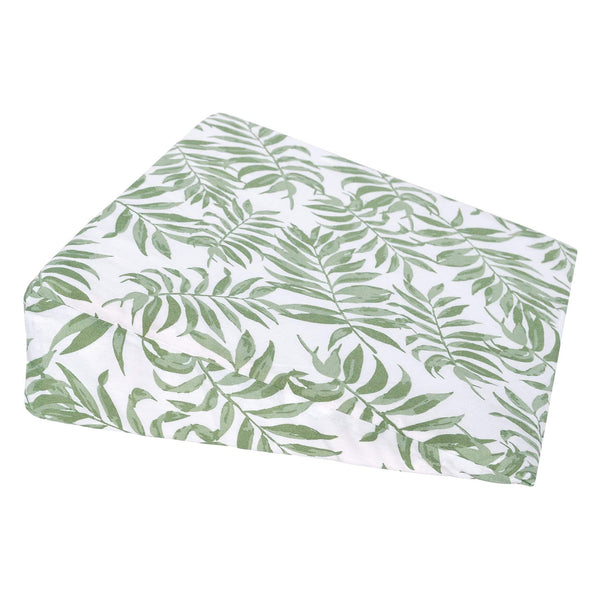 Wedge pillow - Tropical green