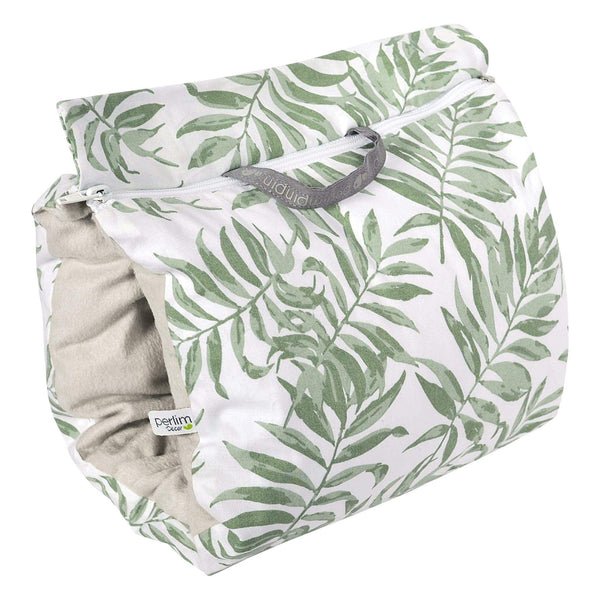Nursing muff - Tropical green
